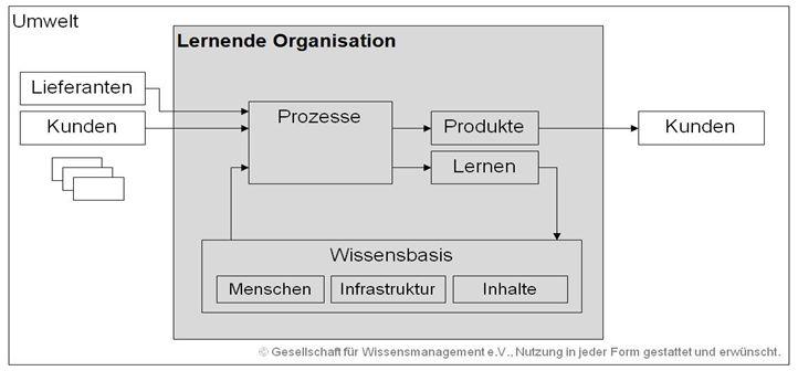 ziele lernende organisation